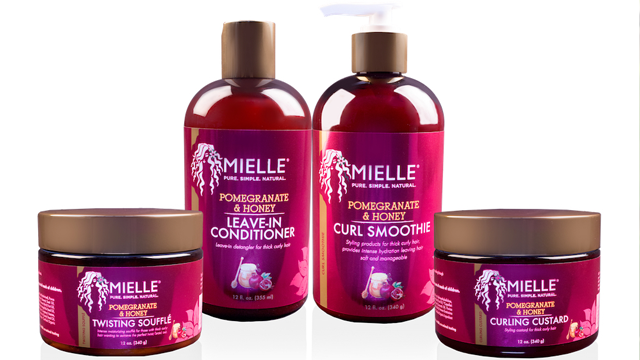 Mielle Organics Launches Pomegranate Amp Honey Collection