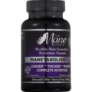 The Mane Choice Manetabolism Hair Vitamins