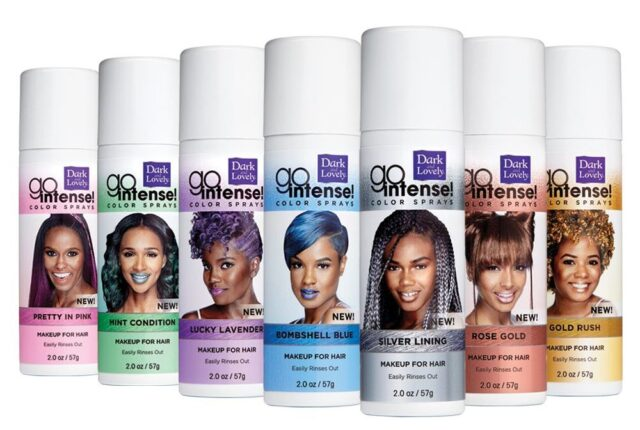 Dark And Lovely Launches Go Intense! Temporary Hair Color For ...