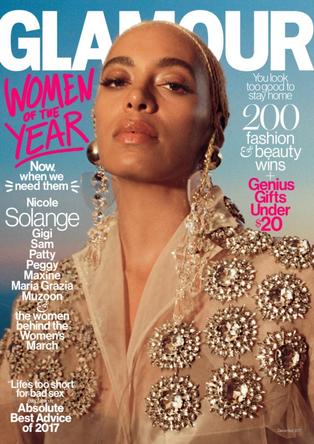 Solange X Glamour 2017 Woman Of The Year