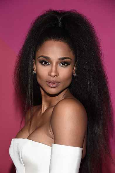 Ciara Stuns In Blowout Ponytail At 2017 Billboard Women In ...