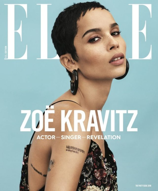 Zöe Kravitz X ELLE January 2018