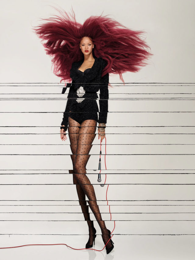 Rihanna X Vogue Paris