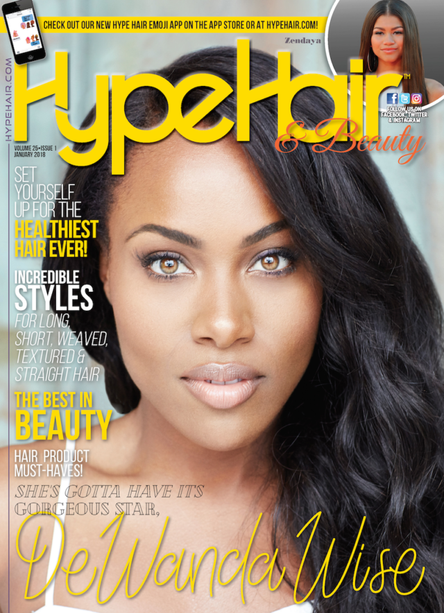Hype Hair X DeWanda Wise January 2018