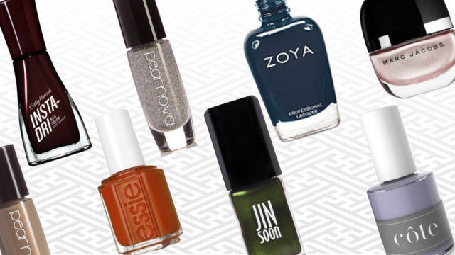 Nail Polish Winter Hues