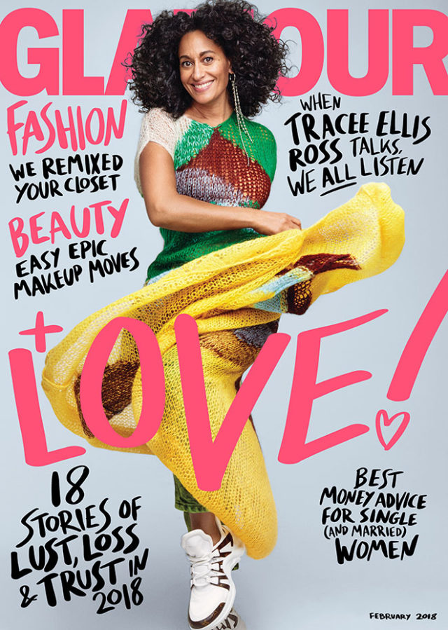 Tracee Ellis Ross X Glamour February 2018