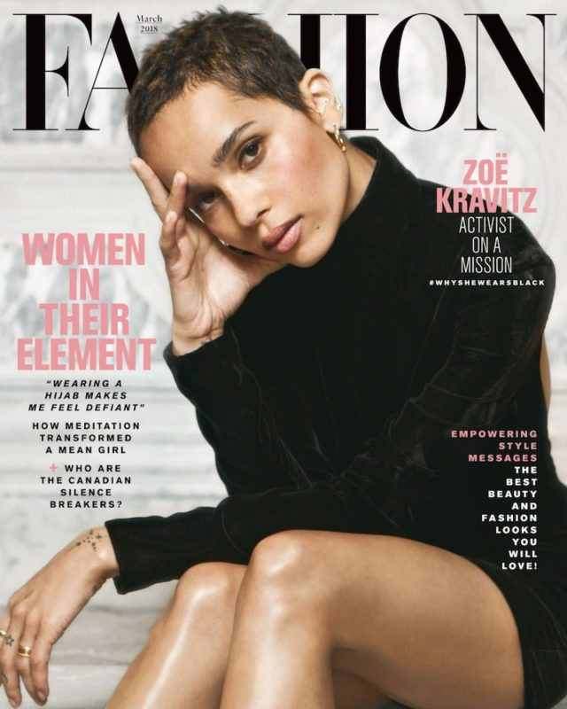 Zoë Kravitz x Fashion March 2018