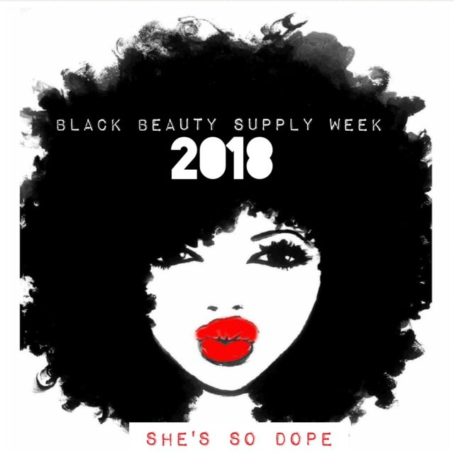 Black Beauty Supply Week 2018