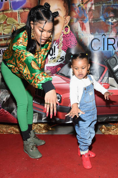 Teyana Taylor Celebrates Grand Opening Of Nail Salon With