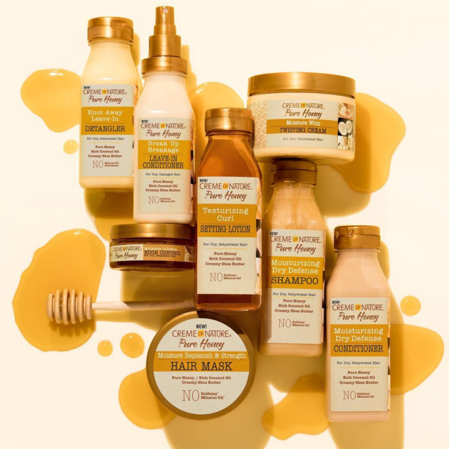 Creme Of Nature Pure Honey Collection