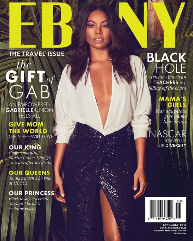 Gabrielle Union X EBONY Magazine