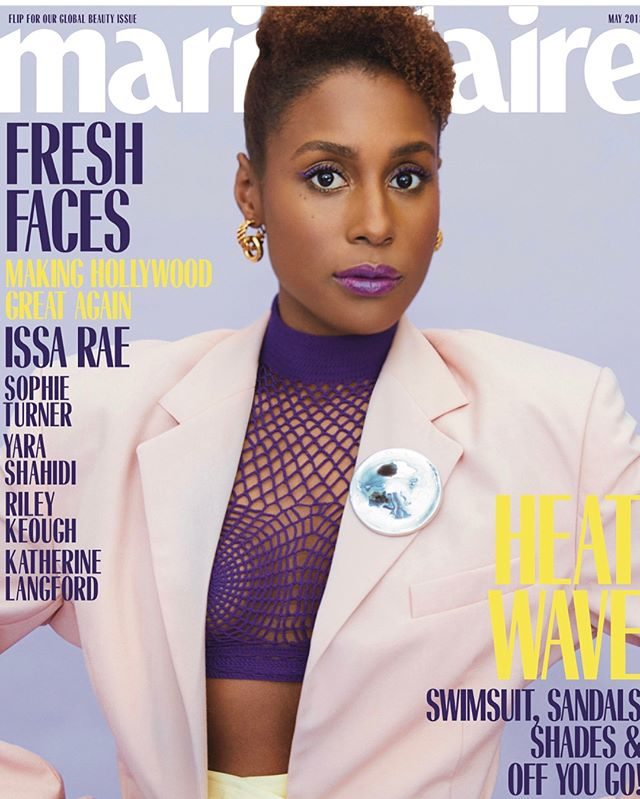 Issa Rae X Marie Claire