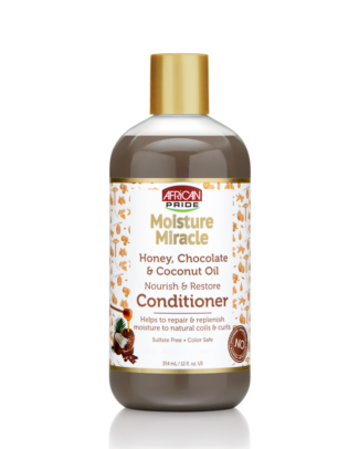 African Pride Moisture Miracle Collection x conditioner