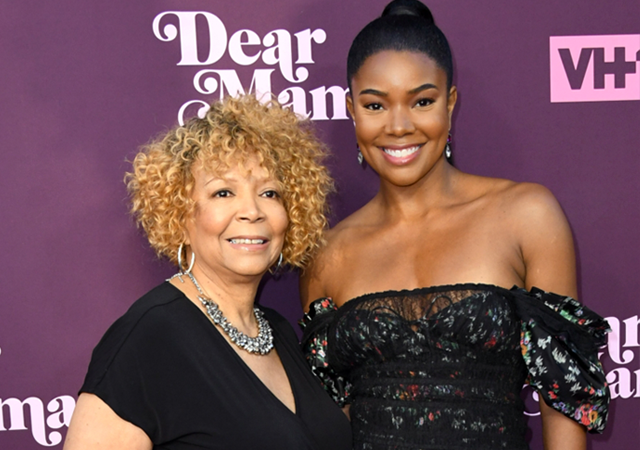 Gabrielle Union and her mom Theresa Union