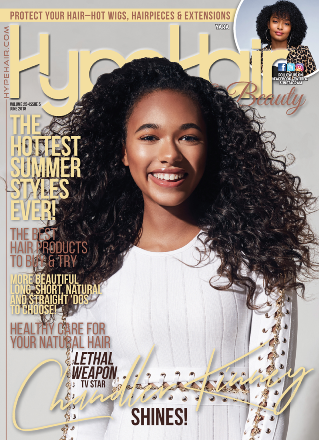 Hype Hair X June 2018 cover