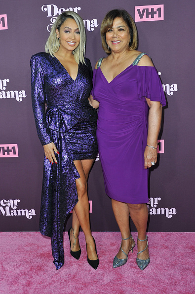 La La Anthony & mom Carmen Surillo