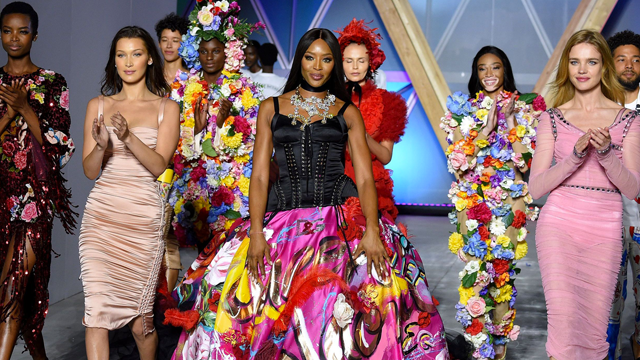 Naomi Campbell, Winnie Harlow & More Heat Up The Runway At Fashion For Relief Gala