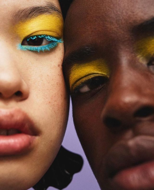 crayola just launched a makeup line with asos