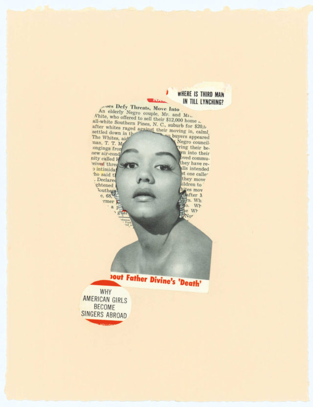 Lorna Simpson Collages