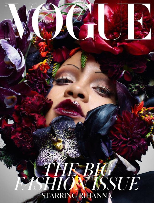 Image result for rihanna british vogue