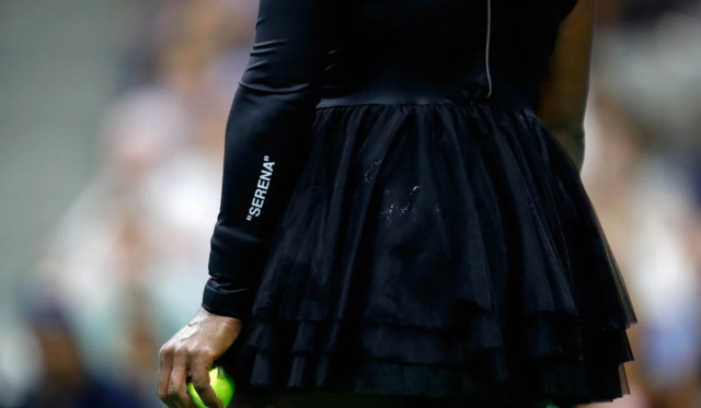 Serena Williams trades in Catsuit for Nike & Off-White Tutus at #USOpen!