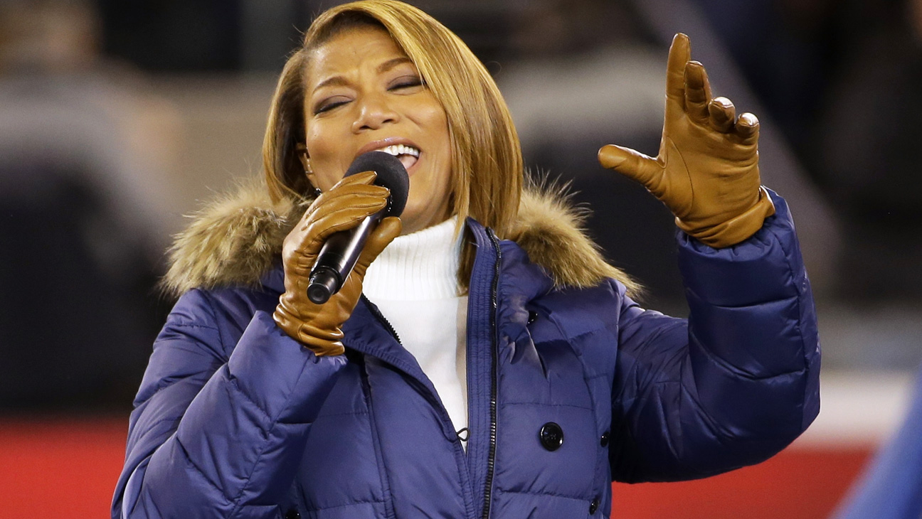 Queen Latifah Sings America The Beautiful At Super Bowl 2014