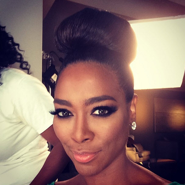 Hair Crush Wednesday Kenya Moore And Her Gone With The