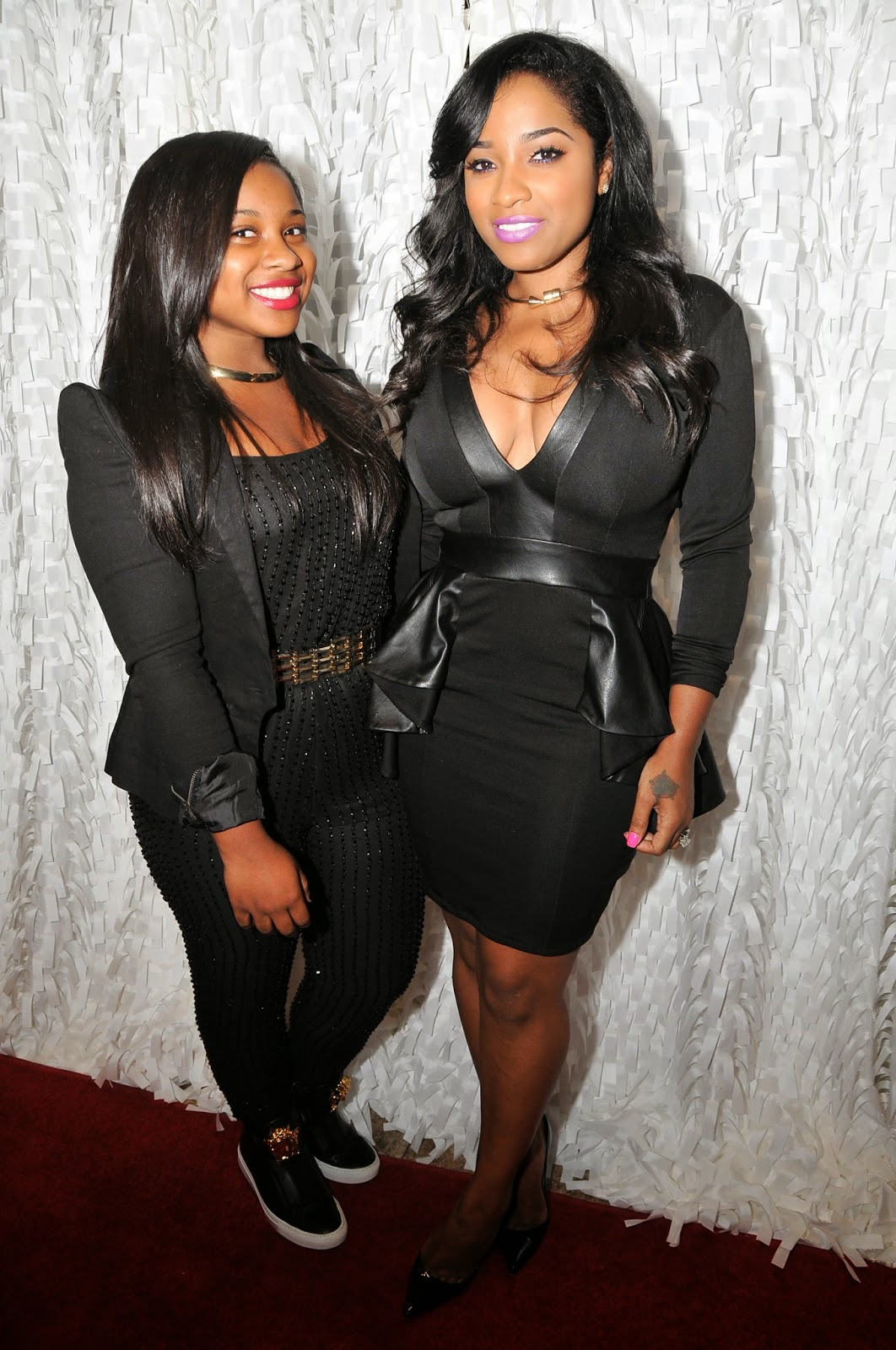 Toya Wright And Reginae Carter Talk Hair Care And Anti