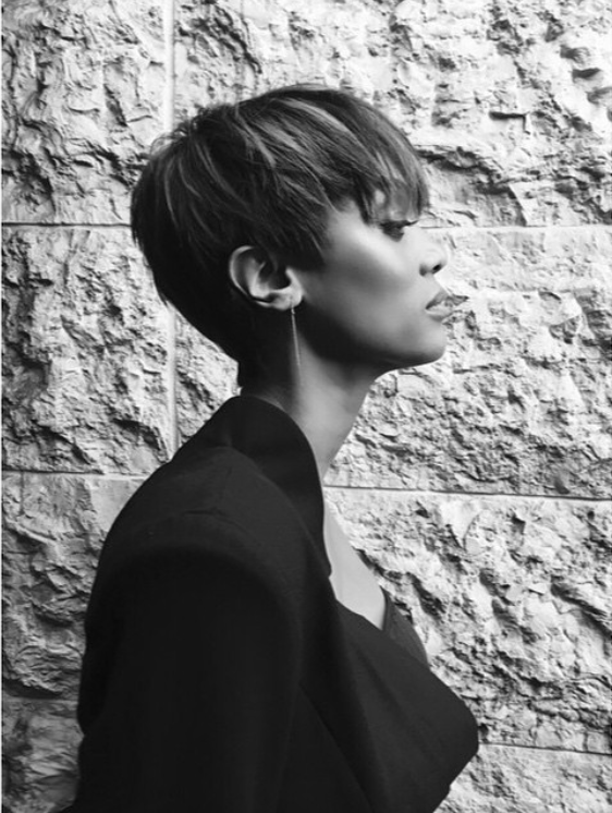 Smize Tyra Banks Debuts New Pixie Cut Hype Hair