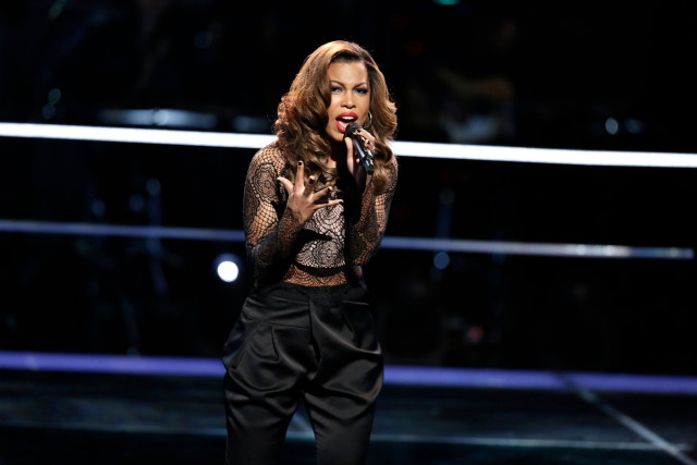 "THE VOICE -- ""Knockout Rounds"" -- Pictured: India Carney -- (Photo by: Tyler Golden/NBC)"