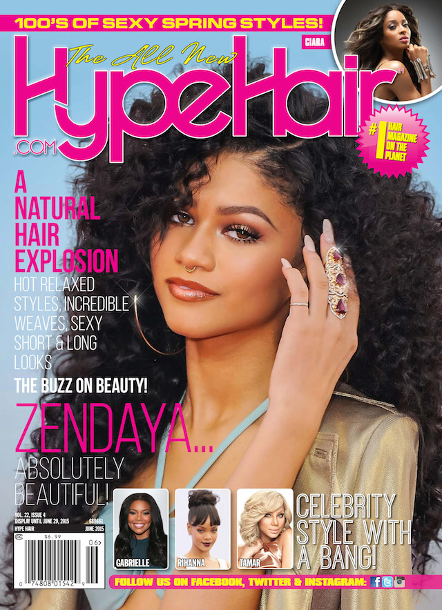 We Love Zendaya On The Cover Of Hype Hair S June 2015 Issue