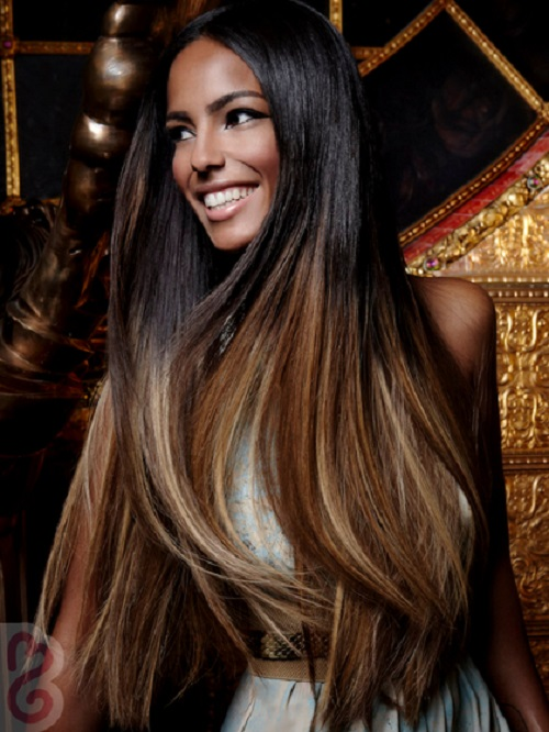 African American Hairstyles Ombre