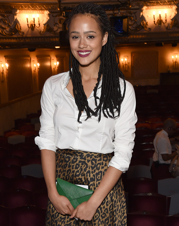 New Do Game Of Thrones Nathalie Emmanuel Rocks Faux Locs