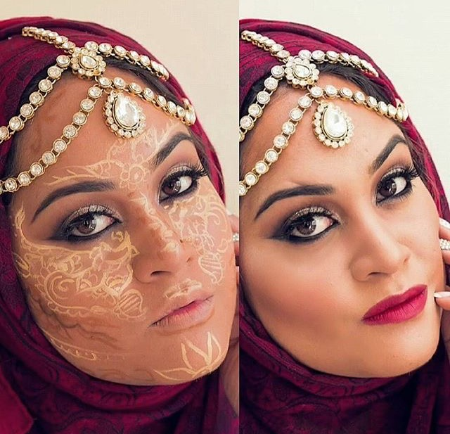 Trend Alert Henna Contouring Brings Artistic Twist To Makeup