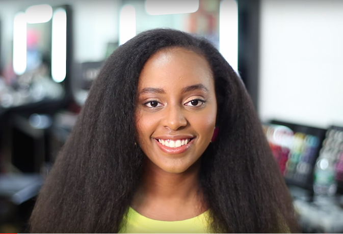 Quick Tips One Minute Tutorial To Blow Out Your Afro