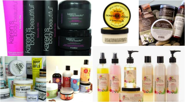 natural hair brands