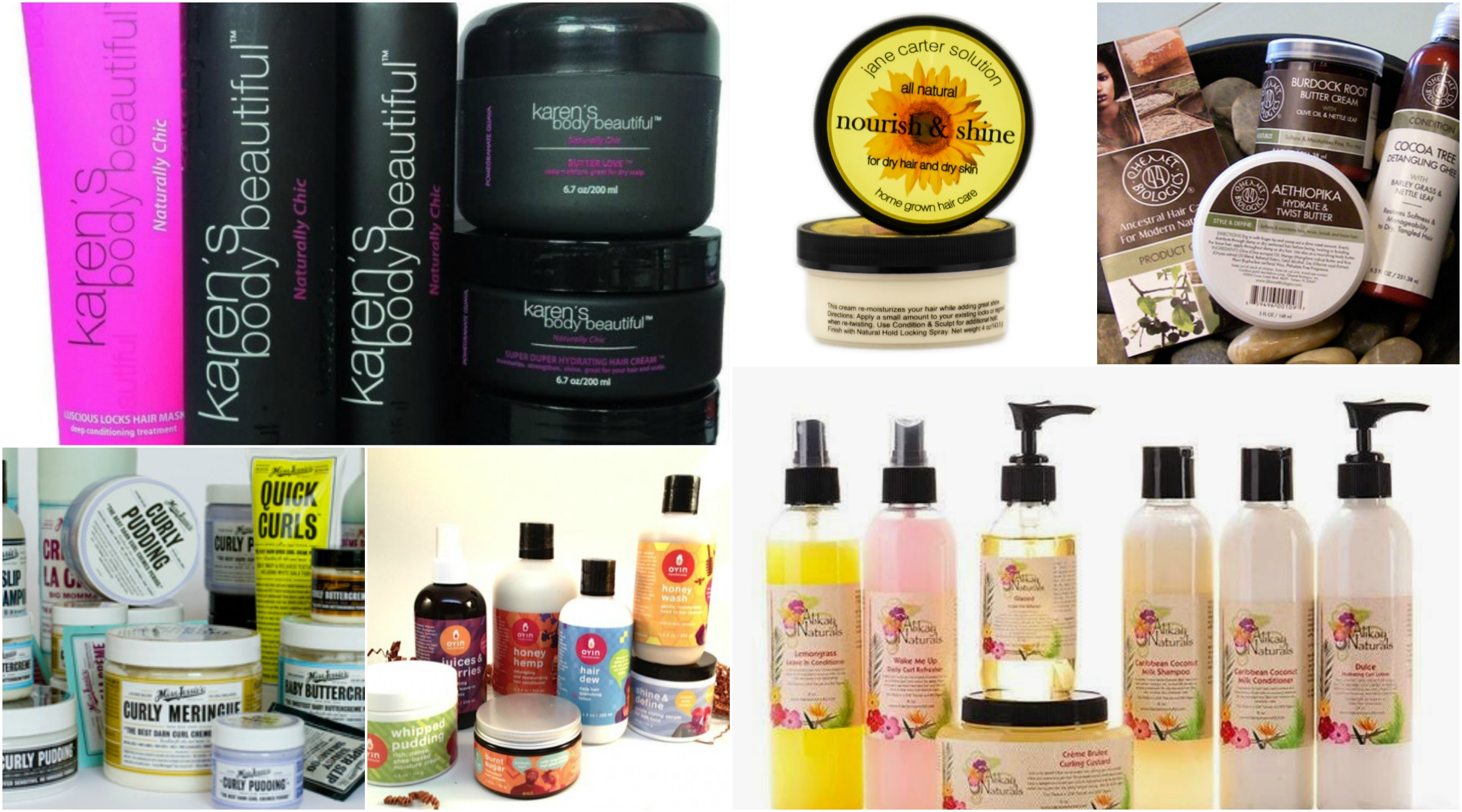 12 Black Owned Natural Beauty Brands You Should Know