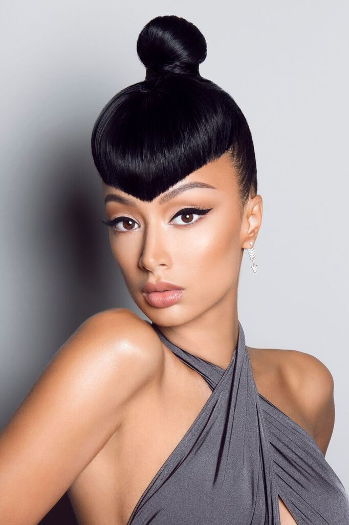 Draya Michele Serves Up Fierceness As Mane Addicts Mane