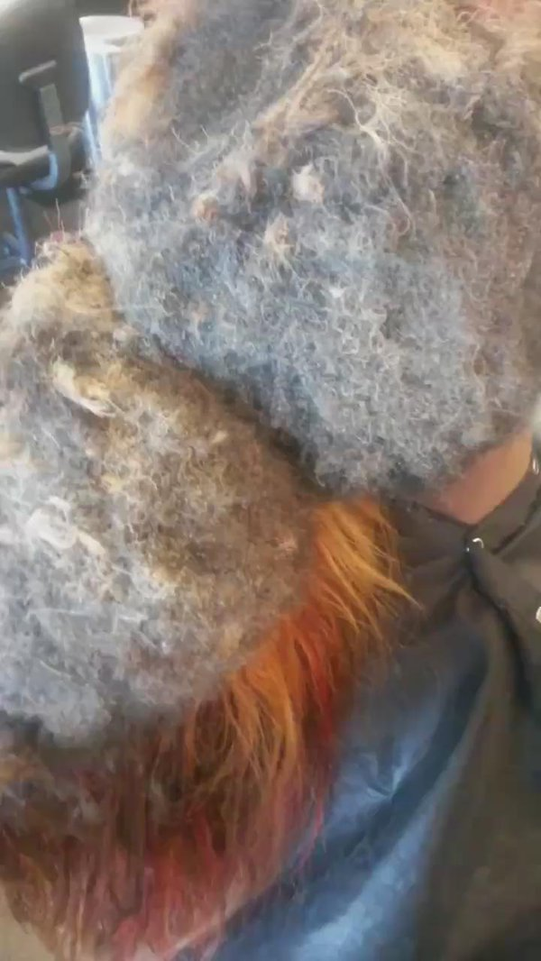 This Is What Happens When You Leave A Weave In For Almost