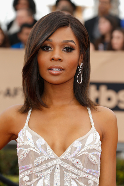 Get Bridal Inspiration From Zuri Hall S Sag Awards Dress