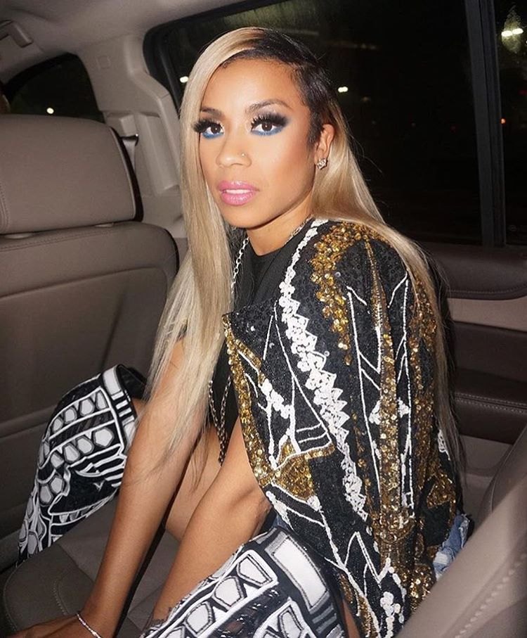 Hype Or Hmm Keyshia Cole S Blonde Tresses