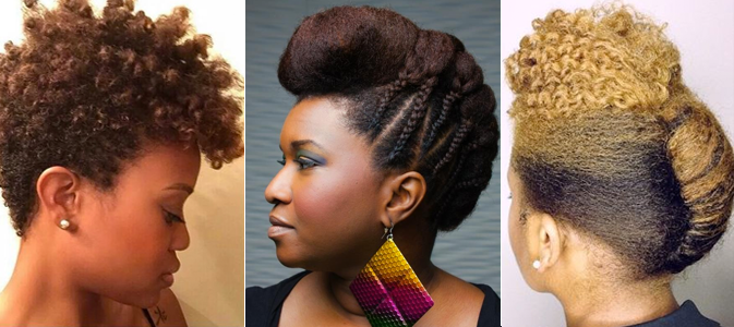 15 More Natural Hairstyles For The Workplace