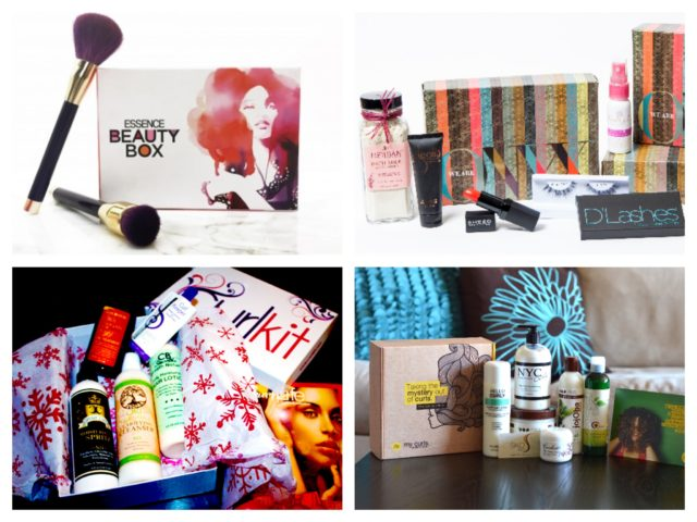 beauty box collage