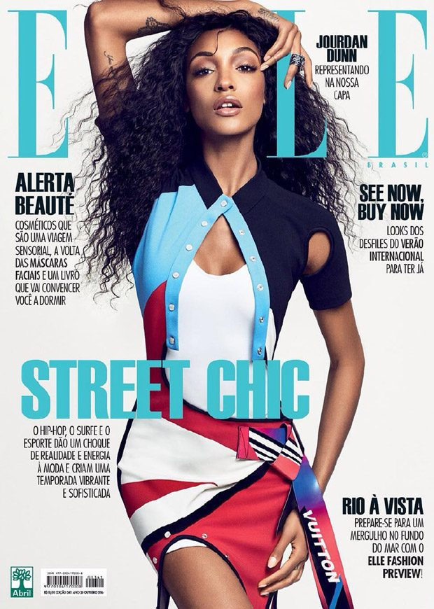 Jourdan Dunn X Elle Brasil October 2016