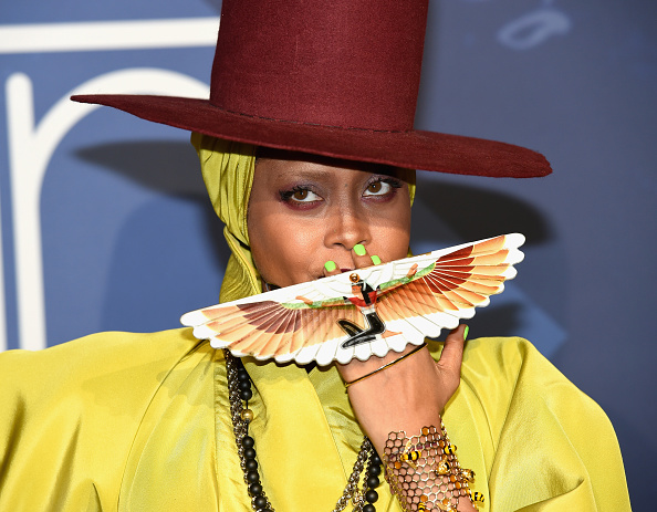 Erykah Badu S Soul Train Hat Game Is Still Everything