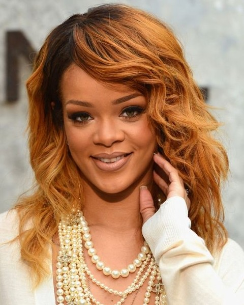 Rihanna Honey Blonde Hairstyles Find Your Perfect Hair Style