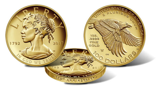 2017 Lady Liberty Coin