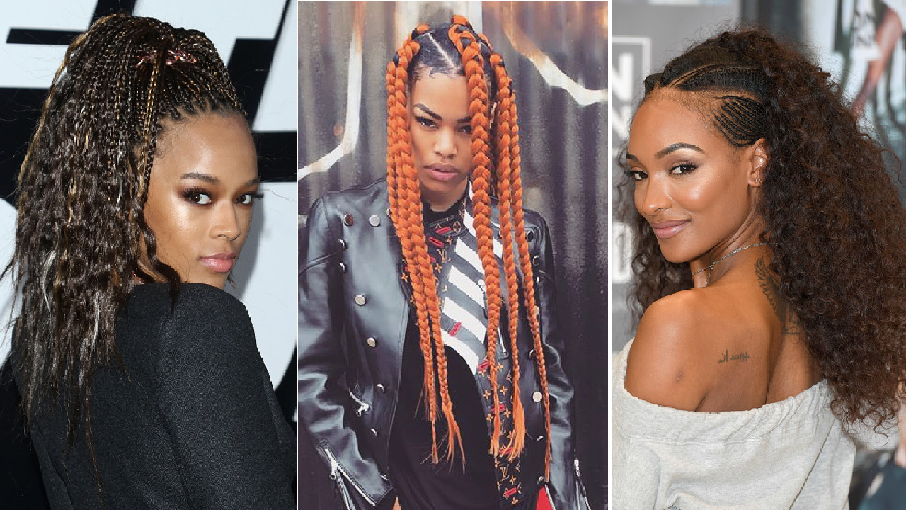 these celebs are serving up serious summer braidinspo