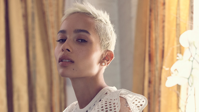 Close Up Zoe Kravitz Is Pixie Perfect In The Edit