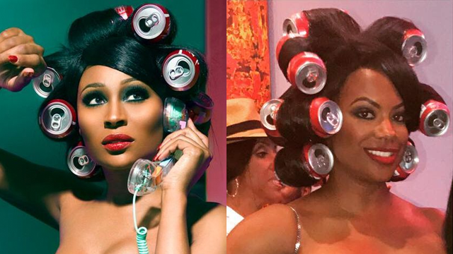 Icymi Kandi Burruss Rocks Soda Can Curlers In Epic